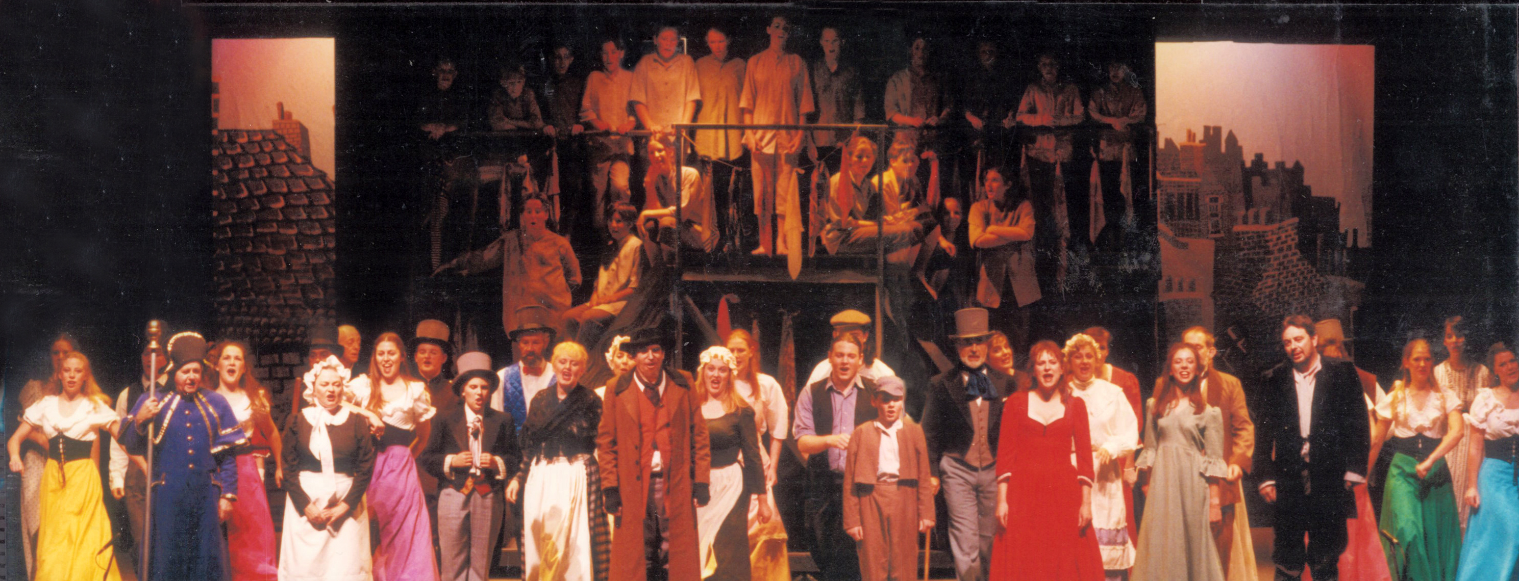 The Cast of Oliver!