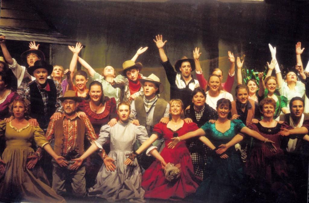 The Cast of Oklahoma!