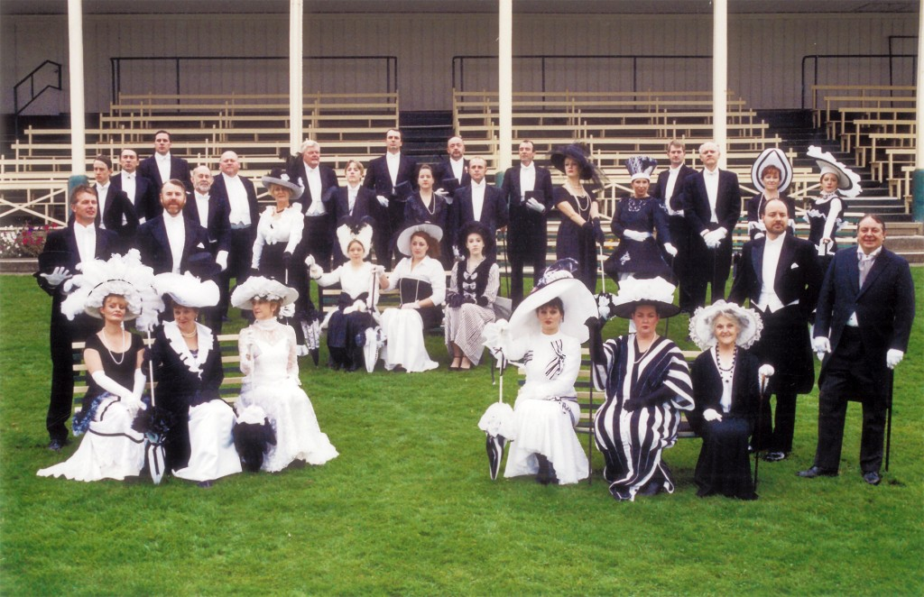 The Cast of My Fair Lady - photo taken at Spreyton Racecourse