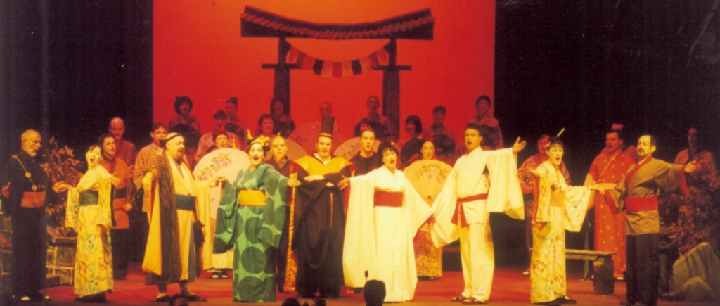The Cast of The Mikado