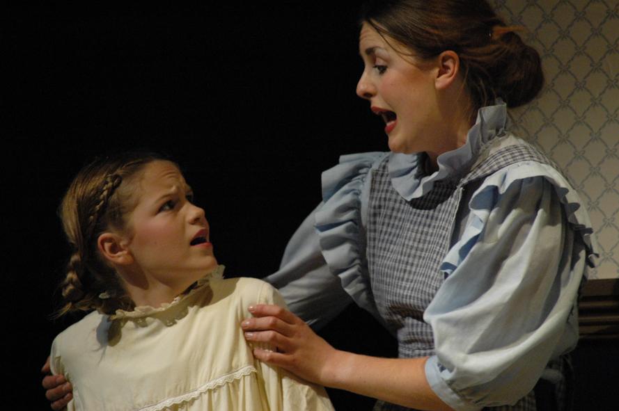 Mary (Andrea Hendrey) & Martha (Amelia Higgs)